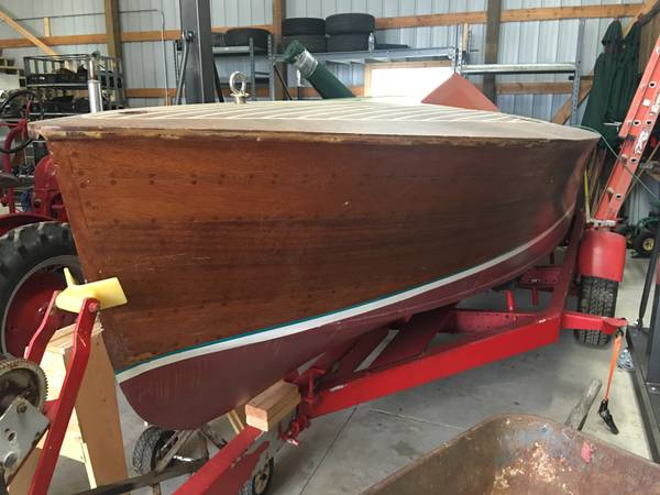 1951 Chris Craft Special Runabout 17ft Woody (Wauconda